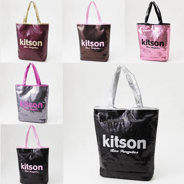 dabb873e0e6f kitson【キットソン】 スパンコールトートバッグ 6色【ブランド品アウトレットSALE】店長おすすめ